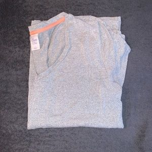 Gray sleep shirt